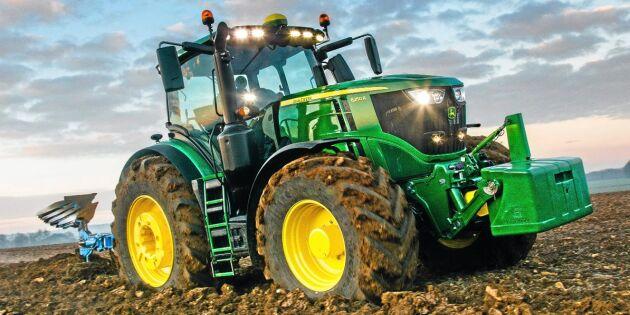 Spänning i traktortoppen
