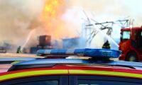Ladugård brann ner till grunden