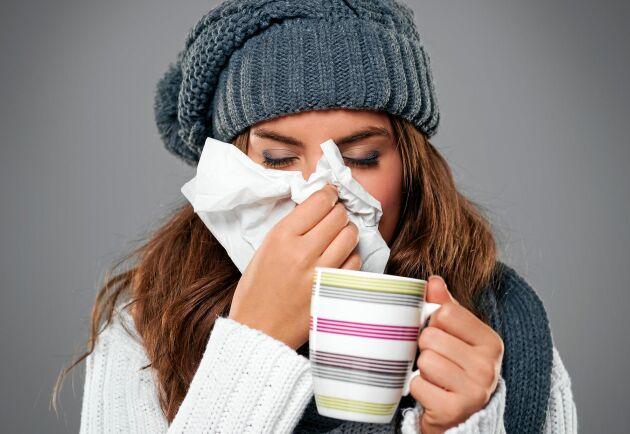 Atjo! Varken tjocka tröjor eller mössa ger dig skydd mot förkylning.