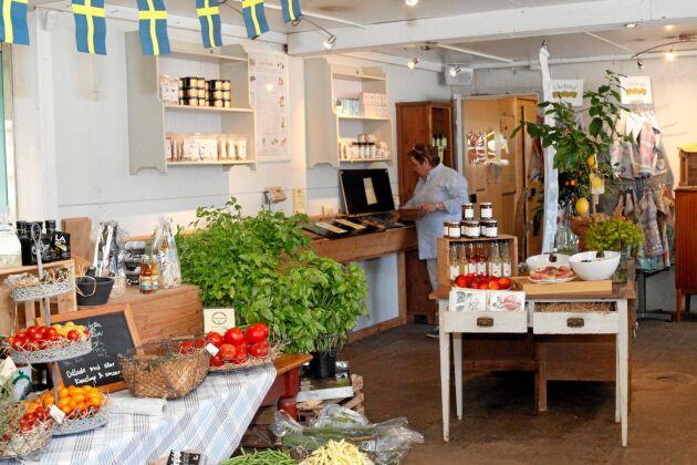 Larsvikens gårdsbutik.