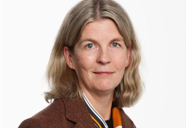 Karin Holmgren, i dag prorektor på SLU
