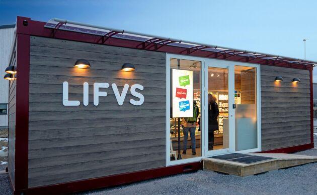 Lifvs startar butiker över hela Sverige, ambitionen är 200 butiker på sikt.
