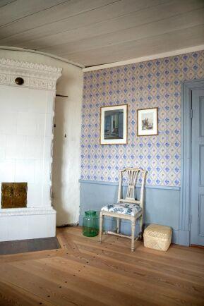 Dova, milda färger som liknar stilen på tidigt 1800-tal.