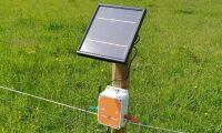 Stängselvakt får solceller