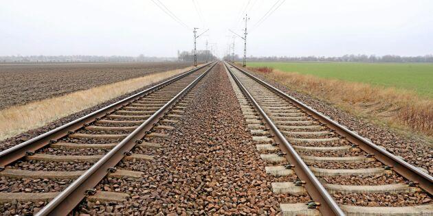 Tågarbete ger möjlighet för entreprenörer