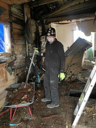Den gamla butiken var i uselt skick och Erik och Susanne fick lägga 2000 arbetstimmar på renoveringen.