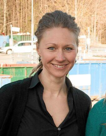 Emelie Emanuelsson är en av två kursledare på en distanskurs i grönsaksodling för självhushållning på Sommenbygdens Folkhögskola
