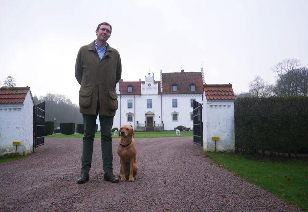 Baltzar Wachtmeister, vd och ägare av Wanås Gods.
