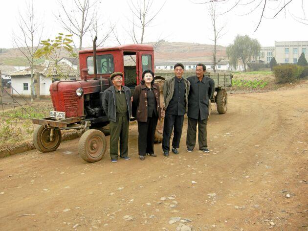 Det har inte tillverkats någon traktor i Nordkorea sedan 1975. Modellen är gjord efter en sovjetisk förlaga.
