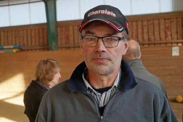 Per Mårtensson, ledamot av Charolaisföreningens avelsråd.