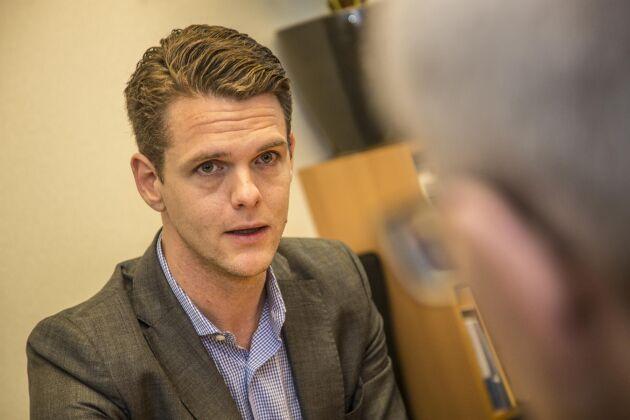 Christoffer Fjellner, EU-parlamentariker (M).