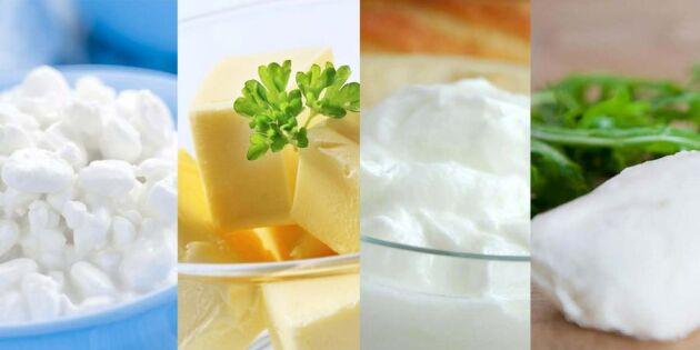 4 goda gör det själv-recept – med mjölk