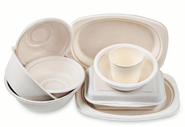 Stora Enso investerar för att producera formpressade fiberprodukter som kan ersätta plast.