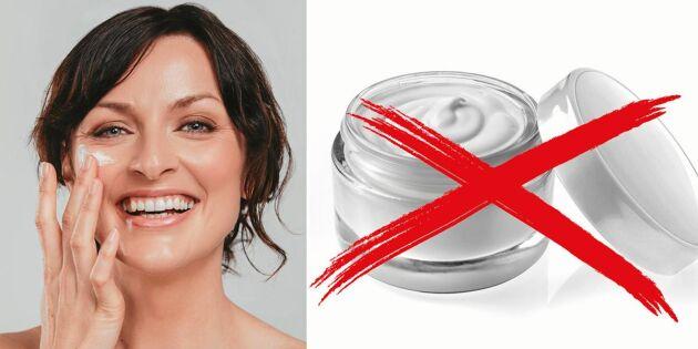 Hudforskaren: Därför ska du aldrig köpa hudkräm med skruvlock!