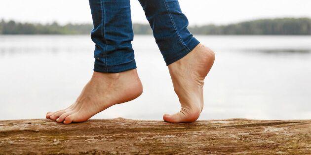 3 enkla övningar som stärker fötterna