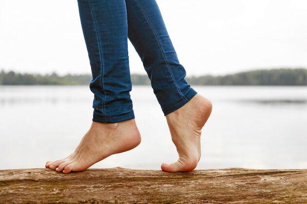 Träna fötterna så mår du bättre!