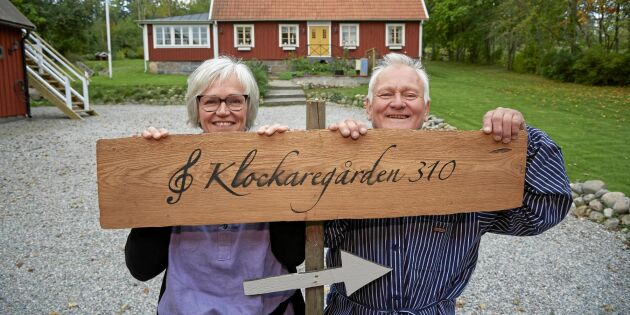 Titta in i Susannes hemmarestaurang på gården i Slöinge