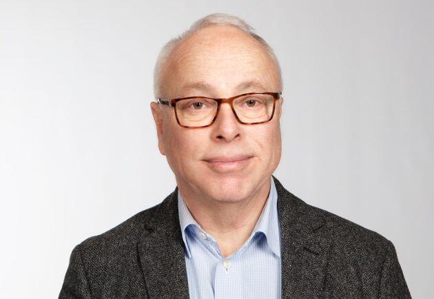 """""""Jord- och skogsbrukare är företagare som är väldigt beroende vad som sker i ekonomin, både i Sverige och globalt"""", säger Johan Schück."""