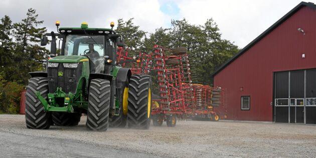 Miljonförluster för flera traktorförsäljare