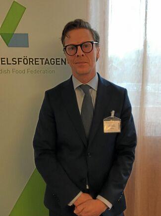 Carl Eckerdal, chefsekonom Livsmedelsföretagen.