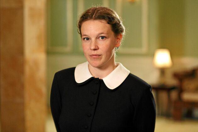 Maggan är servitris på Djurgårdskällaren. Här väcks hennes fackliga kamplusta. Foto: SVT