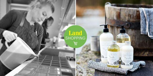 Småskaligt svenskt hantverk – handgjord kroppsvård från Värmland