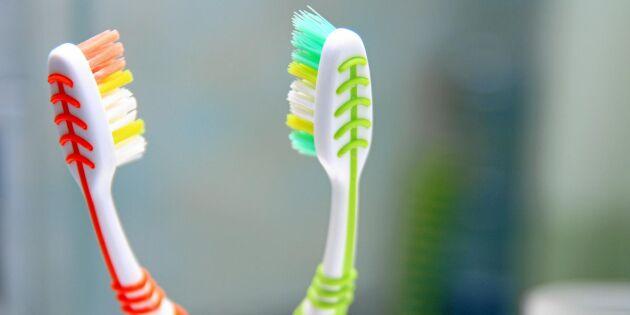 Därför måste du byta din tandborste oftare – och det gör du med den gamla!