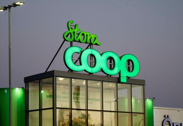Stora Coop i Västberga, Stockholm.