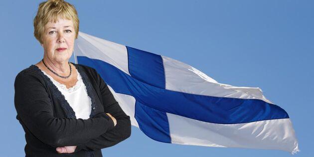 Finlands sätt borde vara vårt i avloppsfrågan