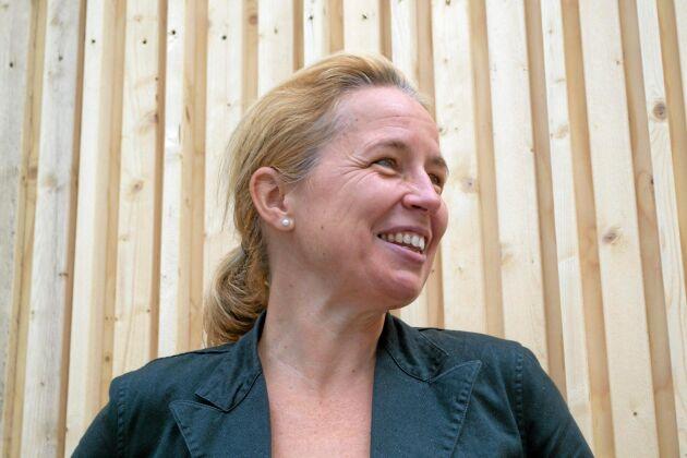 Träbyggande har fått sitt stora genombrott det senaste halvåret, anser Susanne Rudenstam, Sveriges Träbyggnadskansli.