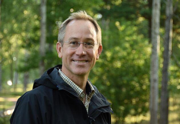 Calle Nordqvist, VD för Skogssällskapet, letar starka ledare till ny organisation.