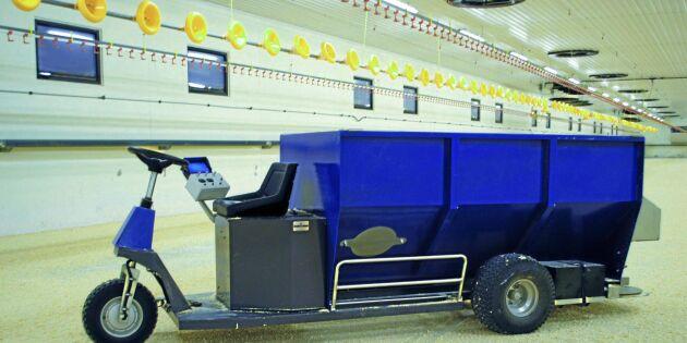 Ny maskin underlättar i storstallar