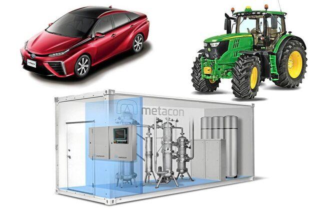 Svenska Metacon har tagit fram en patenterad teknik för att omvandla biogas till vätgas. Företaget tror på sikt att vätgas kan bli den optimala energikällan för att driva allt från traktorer till personbilar.