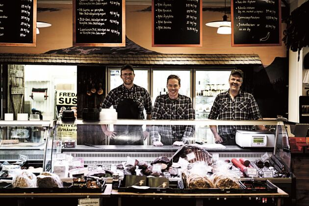Bergmans fisk i Vilhelmina är en av Sveriges alla genuina mathantverkare med egen försäljning.