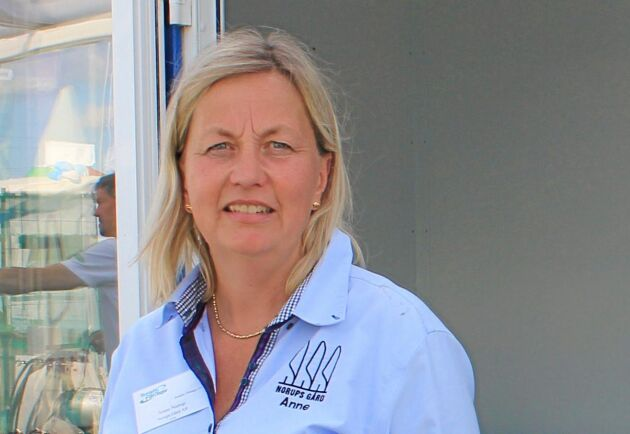 Ann Norup, en av ägarna till familjeföretaget Norups Gård AB.