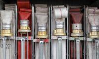 Spannmål brann i silo