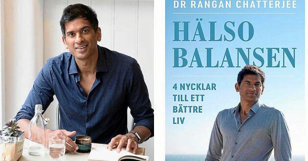 """Rangan Chatterjees bok """"Hälsobalansen: 4 nycklar till ett bättre liv"""" finns på svenska."""