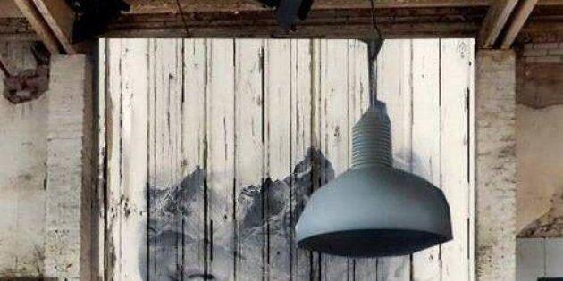 Släpp loss skaparlusten på vägg av plankor
