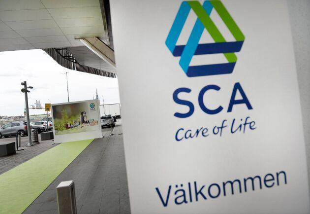 SCA är en förkortning för Svenska Cellulosa Aktiebolaget. Bolaget omsatte förra året drygt 19 miljarder kronor.