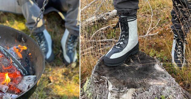 Luddan är en gammal och välbeprövad modell som älskas i Lappland – just för att de klarar att andas och hålla fötter varma.