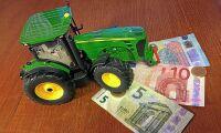 Lägre kurs i år för jordbruksstöd