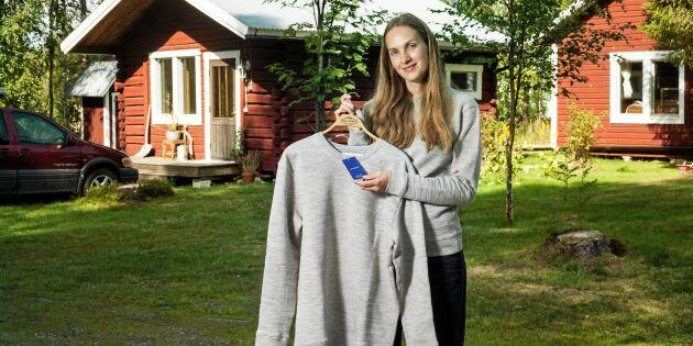 """Modeskaparen Lisa tillverkar kläder av svensk ull: """"Vill bevisa att det går"""""""