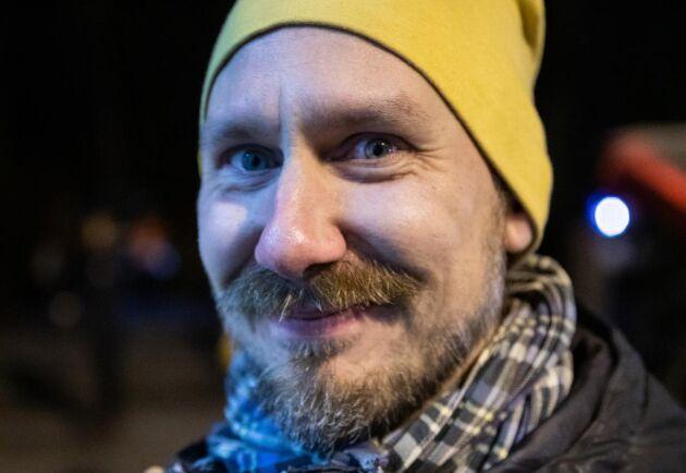 Roger Christensen handlar för första gången av Idas Köttlåda.