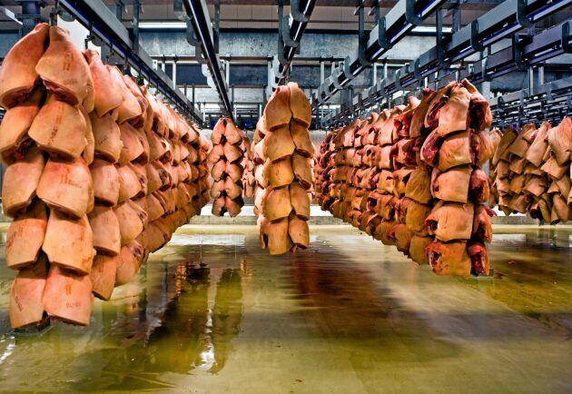 Danskt griskött är på väg att sälja slut.
