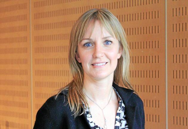 Emmelie Arnäng startade och utvecklade sitt företag som en del av verksamheten vid Wenngarns slott när hon var anställd.