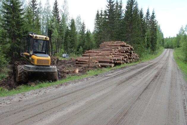 Efter kartläggningen av riskerna i skogen ska entreprenörerna utbildas.