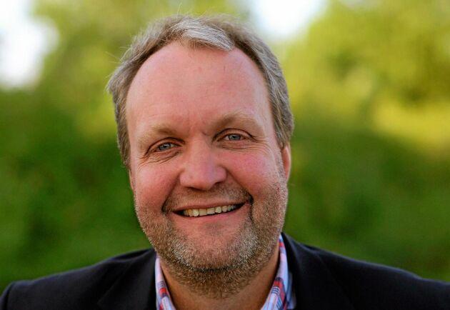 Tillväxten på den ekologiska marknaden har ökat varje år, säger Mikael Jeppsson, chef för spannmålsenheten på Lantmännen Lantbruk.