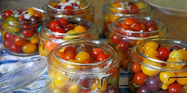 Steg för steg-guide: Enklaste sättet att konservera tomater!