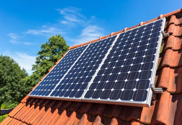 I Moderaternas och KD:s budget halveras det statliga investeringsstödet för solceller.