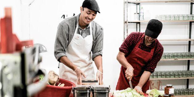 Koreansk kimchi med svenska råvaror gör succé